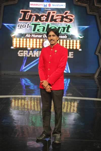 Prahlad Acharya,India's got talent finalist, Speaking shadows - Mythical India