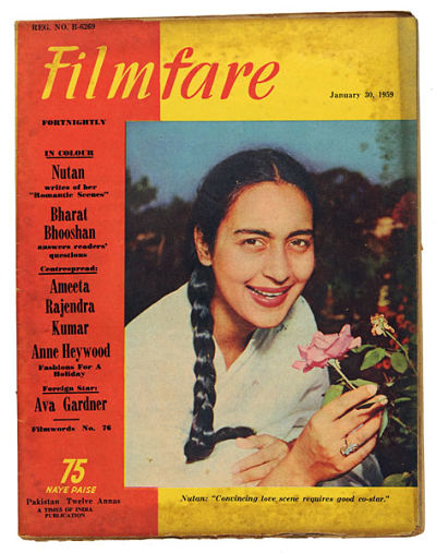 21 February- Today in Indian history-Death anniversary of Nutan amarth Bahl better known as Nutan. An Indian actress who appeared in more than 70 Hindi films in a career spanning over four decades, she was regarded as one of the finest female actors in Hindi cinema. Known for playing unconventional parts, she was awarded the Padma Shri by the Government of India in 1974.
