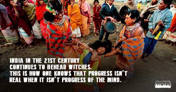 The real India which hasn't progressed - Mythical India