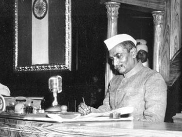 Death anniversary of Shri Rajendra Prasad, the first President of India. A lawyer by profession, he joined Indian National Congress during the freedom movement and became a major leader. He was imprisoned by British government during the Salt Satyagraha and Quit India movement. He was also elected as the president of the Constituent Assembly of India. Following the first general elections, he was elected President and established a tradition of non-partisanship and independence. He is the only president who has been elected to the office twice.