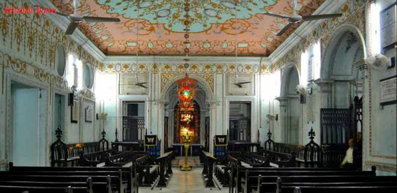 The chapel inside La martiniere school - Mythical India