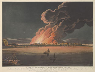 27 Feb- Great fire of Mumbai in 1803. A big area around old fort was. It prompted the planning of new town better space usage. This led to Malabar hill becoming the location of luxury colonial mansions.
