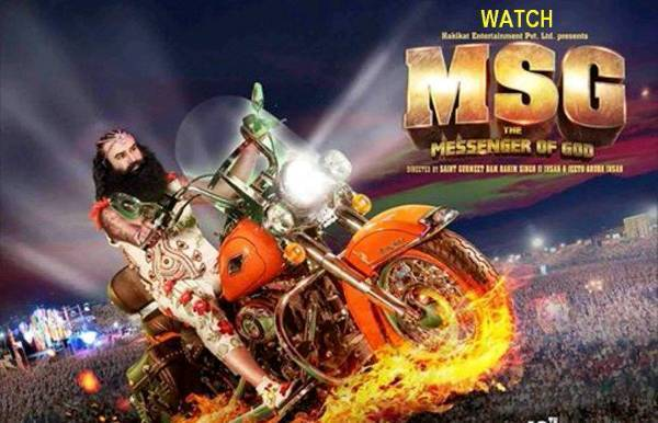 Gurmeet Ram Rahim SIngh in MSG poster - Mythical India