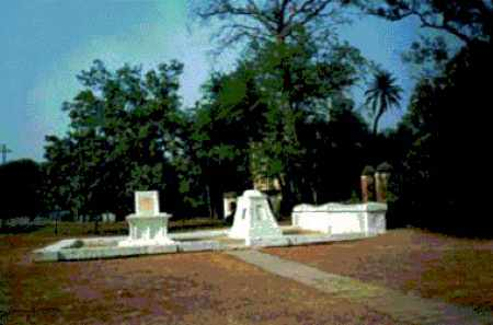 The tomb inside the premises of Constantia Estate - Mythical India