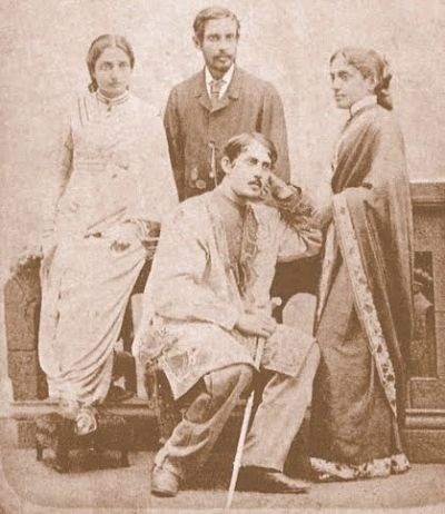 4 Mar – Death anniversary of shri Jyotirindranath Tagore who was a great Bengali poet. He was also a playwright, a musician and a painter. He played a major role in the cultivating talents of his younger brother, Shri Rabindranath Tagore.