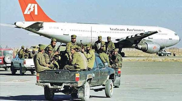 Indian Airlines flight IC814 hijacked, kandhar,taliban - Mythical India