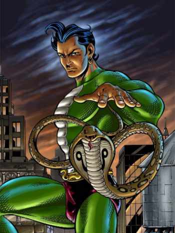 Nagraj,the superhero by Raj Comics - Mythical India