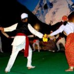 Jhainta folk dance from kumaon district himachal pradesh - Mythical India