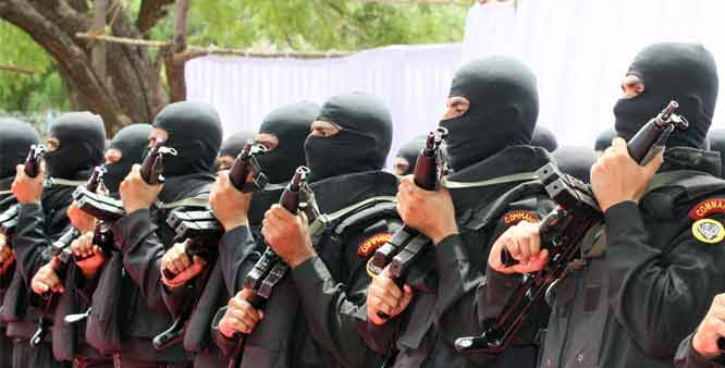 NSG commandos - Mythical India
