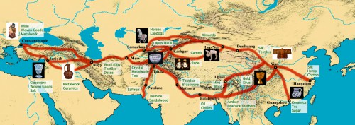 Mythical India silk route history culture