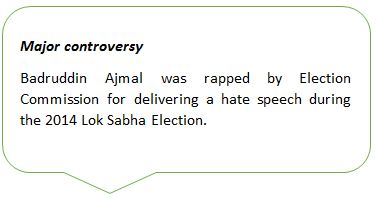 Controversy By Badruddin Ajmal - Mythical India