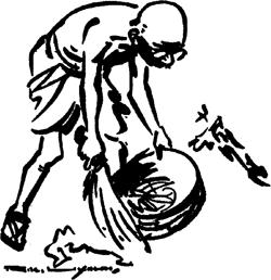 Mahatma Gandhi promoted cleaning of surroundings - Mythical India
