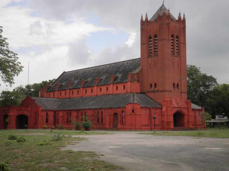 All Saints Garrison Church overseen by Reverend Daniel Subhan, Lalbagh,Lucknow - Mythical India