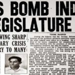 8 April - The day when Bhagat Singh and Batukeshwar Dutt protested against the draconian law (Defence of India Act) which would have granted immense powers in the hands of British police. To grab the attention of world media, the members of Hindustan Socialist Republican Union, hurled bombs in the Central Legislative assembly where the law was being passed. After throwing the bombs in, the duo stood there shouting slogan 'Inquilaab Zindabad' before being arrested. A trial sentenced both to Life Imprisonment in cellular jail at Andaman and Nicobar islands - Mythical India