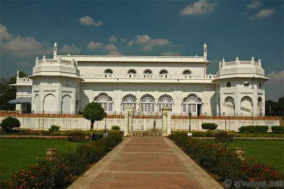 The baradari at Kaiserbagh built by Wajid Ali shah as a place for mourning - Mythical India