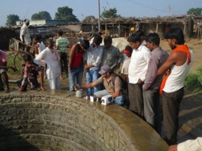 Mythical India culture water crisis