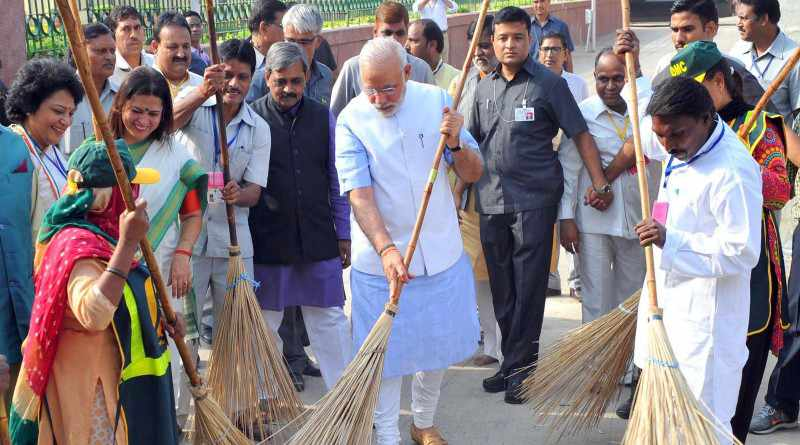 Swachh Bharat Abhiyan header image - Mythical India