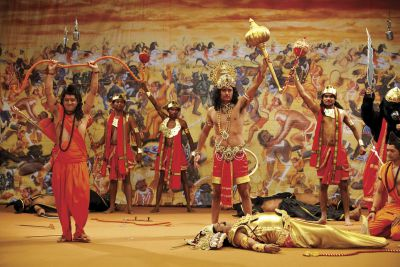 Mythical India culture ramlila