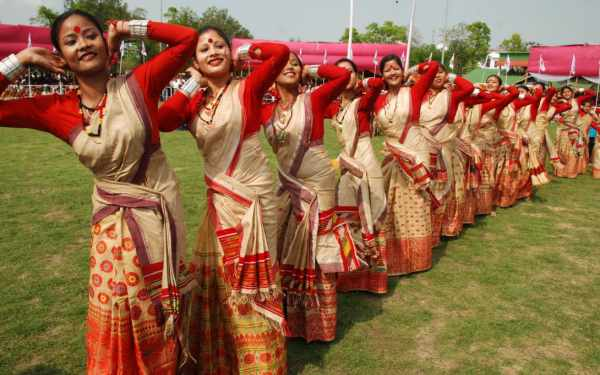 The Bagurumba folk dance of Assam - Mythical India