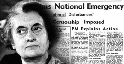 Indian Express covered the atrocities by Congress on the name of Emergency - Mythical India