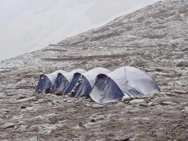 Roopkund lake is famous for its Trek and camping expeditions - Mythical India