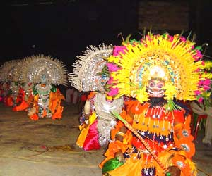Gambhira folk dance,Folk dance of West bengal - Mythical India