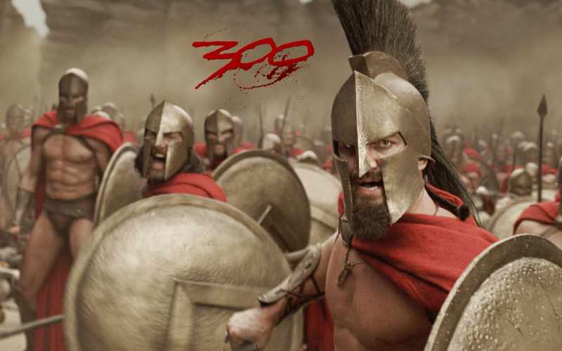 300 armors, shields, spears supplied by Deepika Exports, King Leonidus - Mythical India