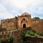 The front entrance of Bidar Fort - Mythical India