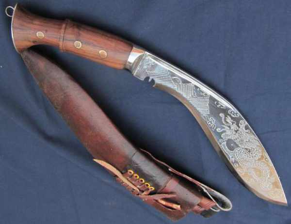 Khukri is manufactured by Windlass and Lord of Battles - Mythical India