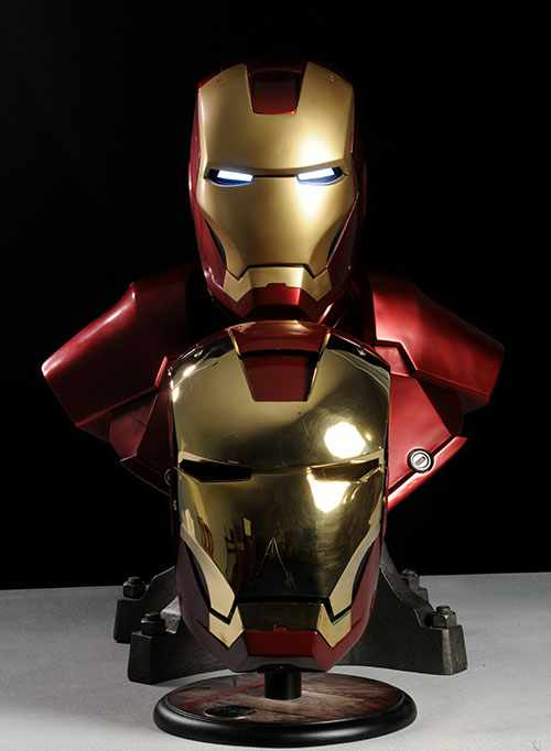 The Iron man helmet and Armor manufactured in India by Windlass, dehradun - Mythical India