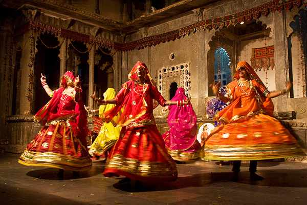 Ghoomar is the most famous Rajasthani Dance - Mythical India
