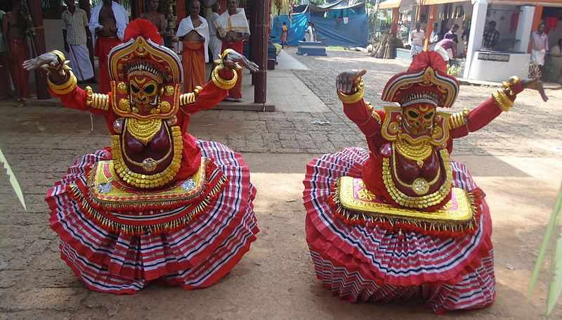 Thirayattam dance in Kerala - Mythical India