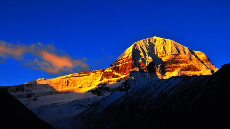 Mythical India Mount Kailash Sunset