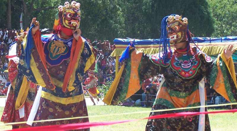 Traditional Bardo Chham folk dance of Arunachal Pradesh - Mythical India