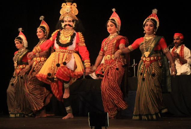 Bayalata dance similar to Yakshagana dance - Mythical India
