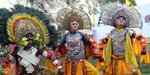 Chhau dance performed in Jharkhand, West Bengal and Orissa - Mythical India