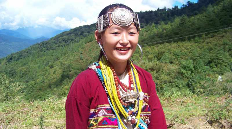 The ethnic wear of the Shardukpens, Arunachal Pradesh - Mythical India