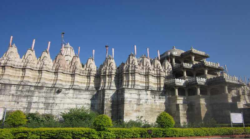 Ranakpur temple is a jain temple in Udaipur - Mythical India