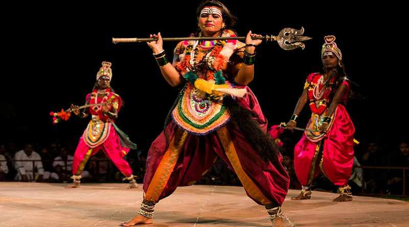 Veeragase dance folk dances of Karnataka - Mythical India