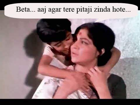 Famous dialogues, Nirupa Roy meme - Mythical India