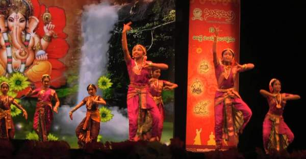 Andhra Natyam is inspired from Bharat natyam but originated in Andhra Pradesh - Mythical India
