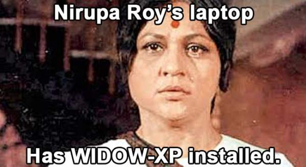 Nirupa roy trolled - Mythical India
