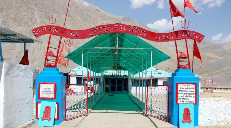 Plateau baba temple in Kargil - Mythical India