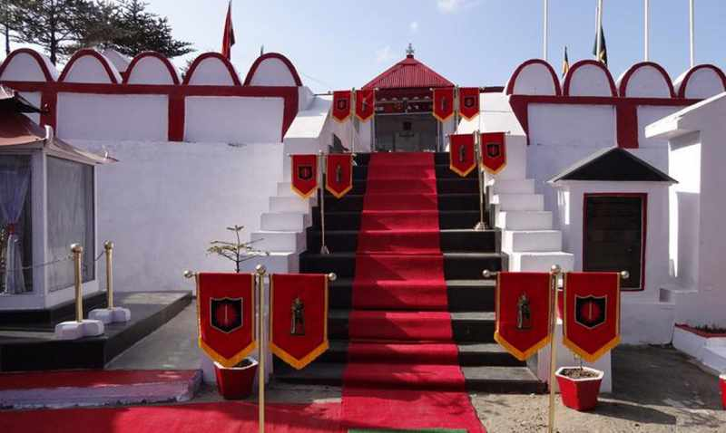 War memorial of Jaswant Singh - Mythical India