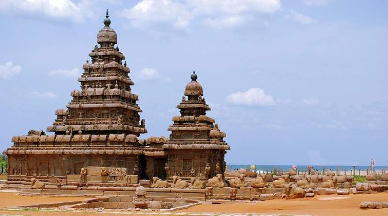 The rock cut temple of Mahabalipuram, Temples of Tamil Nadu - Mythical India