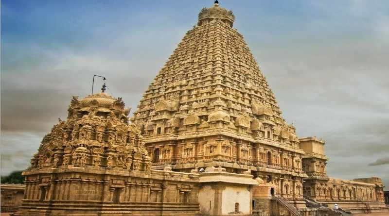 Thanjavur temple, UNESCO world heritage site, Temples of Tamil Nadu - Mythical India