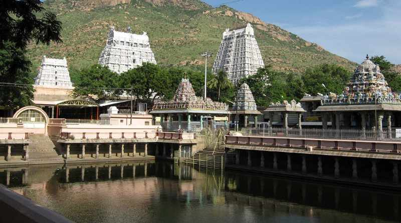 Arunchaleshwara temple near Annamalai hills, Temples of Tamil Nadu - Mythical India