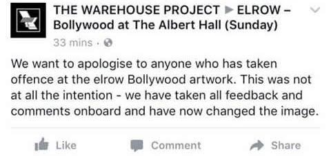 Warehouse project bollywood party