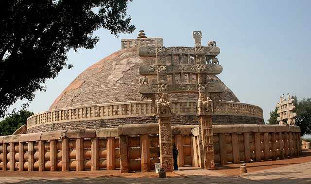 Sanchi Stupa, Sanchi, Madhya Pradesh - Mythical India