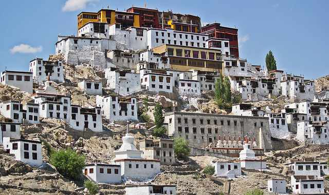 Thikse monastery, Leh, Buddhist tourism - Mythical India